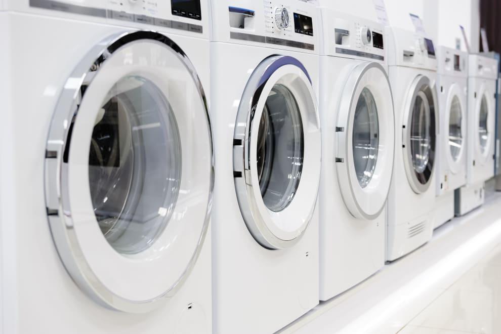 Waschmaschine und Tumbler oder Kombigerät