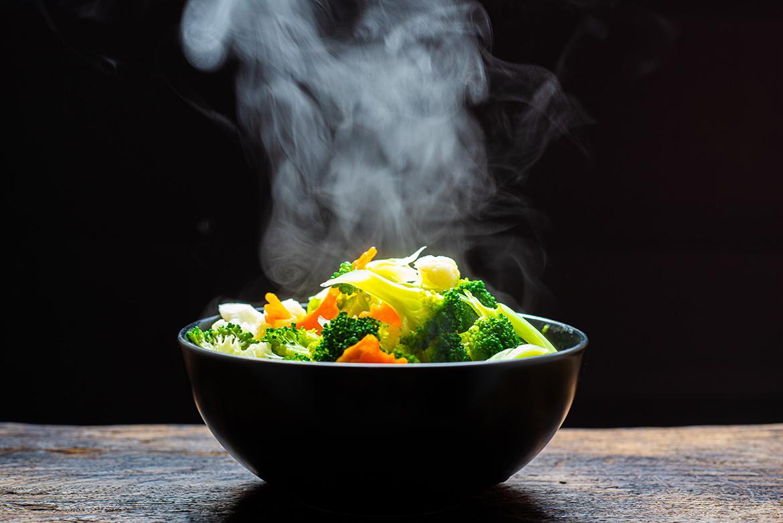 Schonend kochen mit Steamer